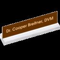 Acrylic Desk Name Plate Holder